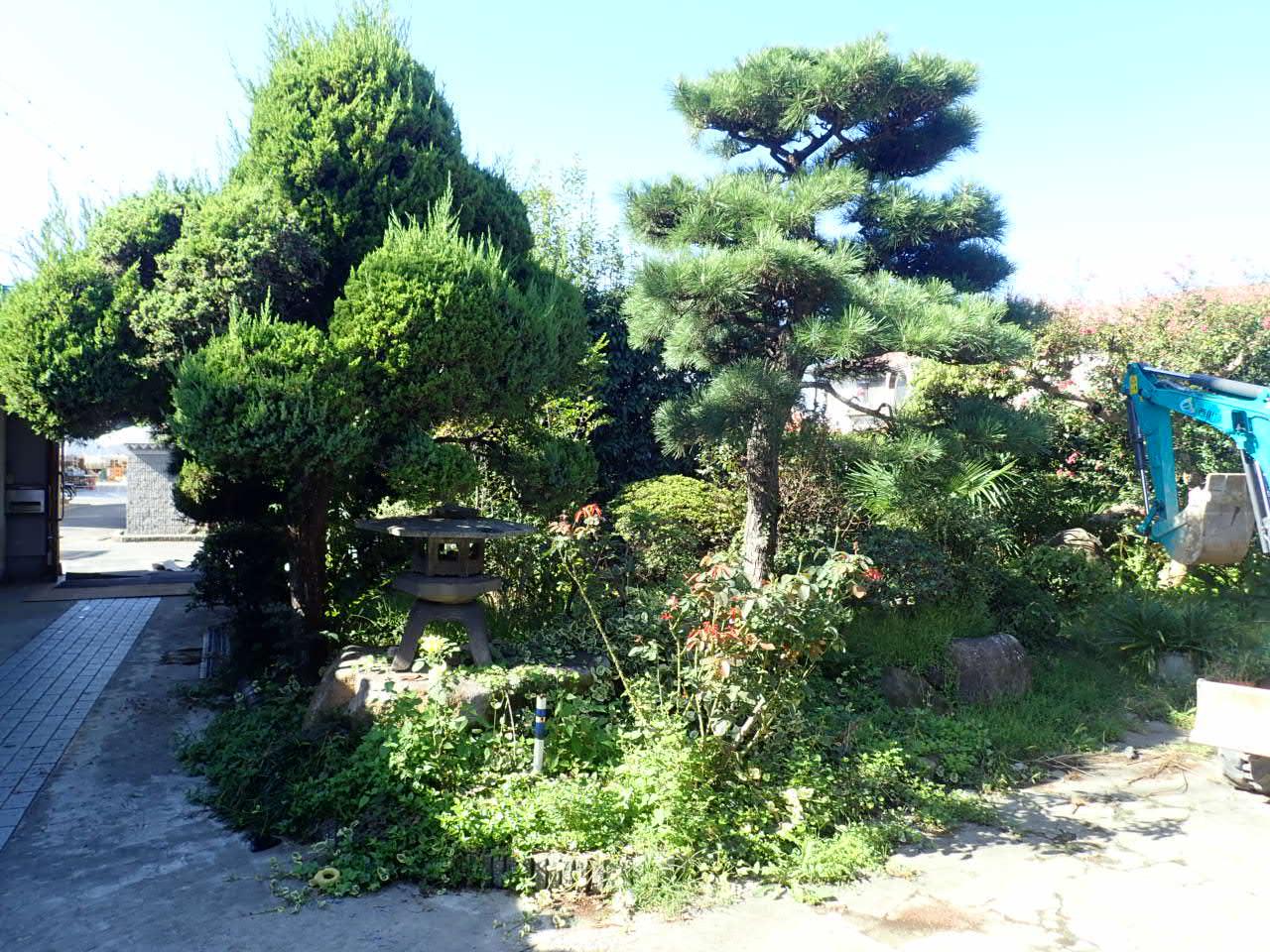 堺市西区 外構リフォームスタート