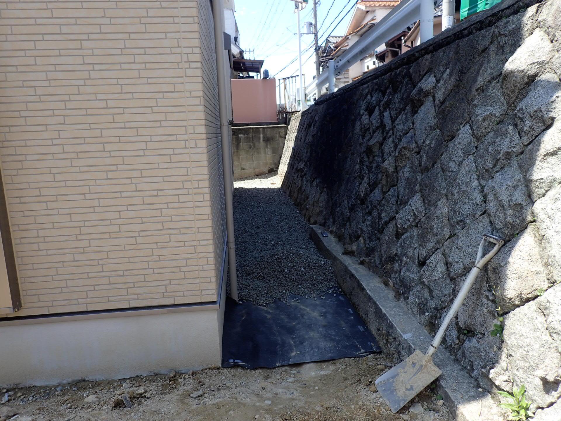 堺市美原区 外構工事スタート