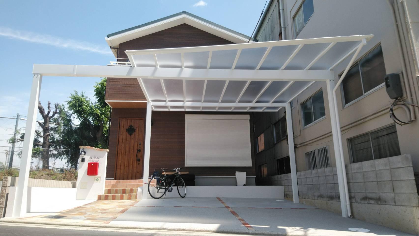 堺市西区 新築外構工事完了しました!