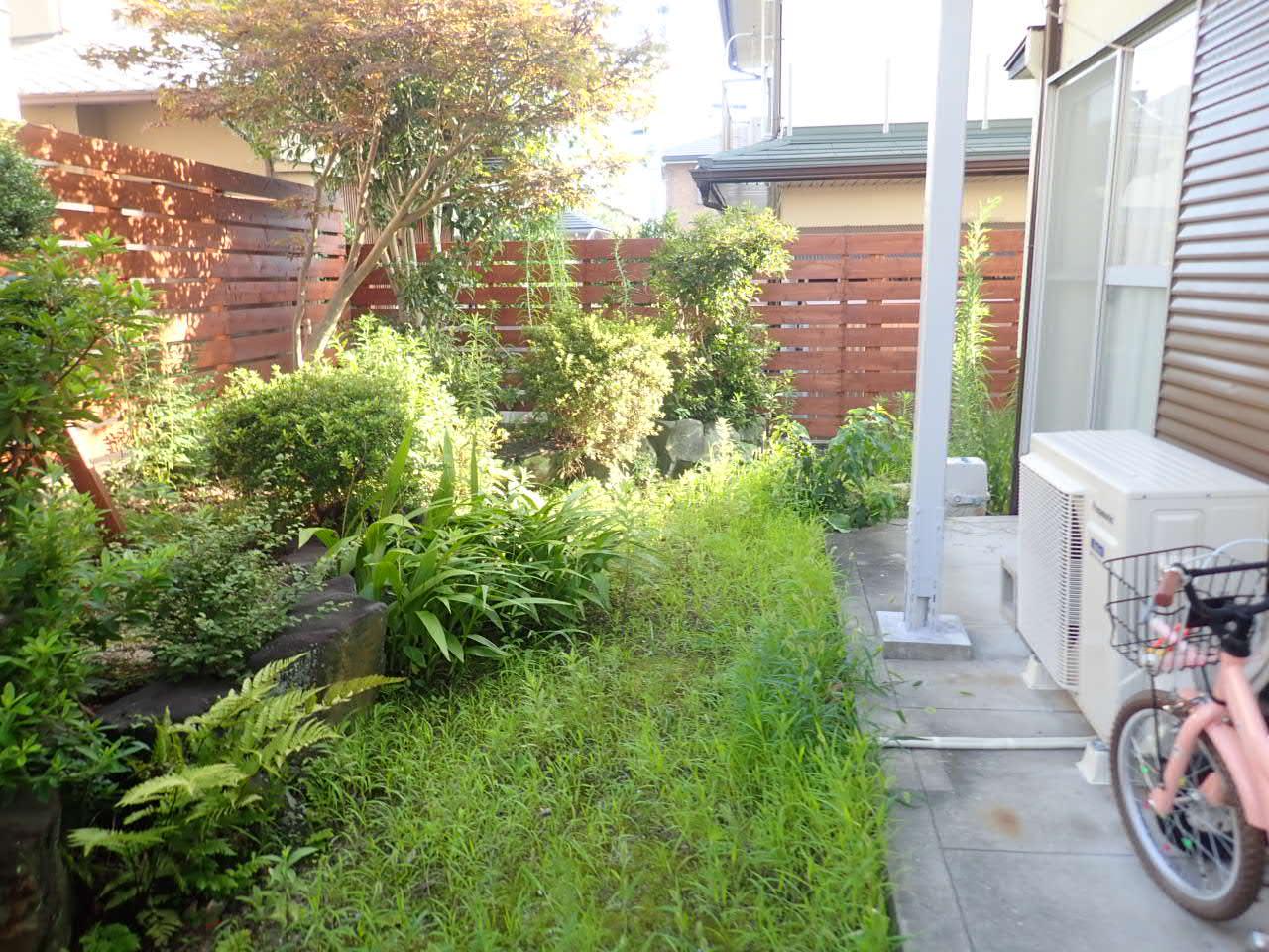 堺市南区 虫を気にせず遊べる庭完成!