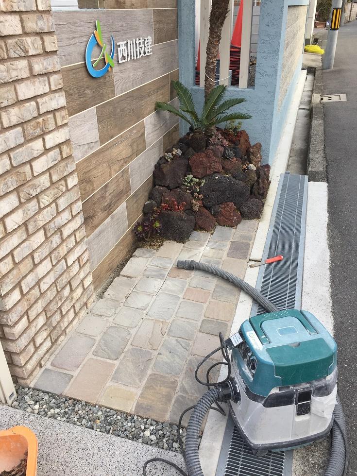 堺市南区 植栽工事