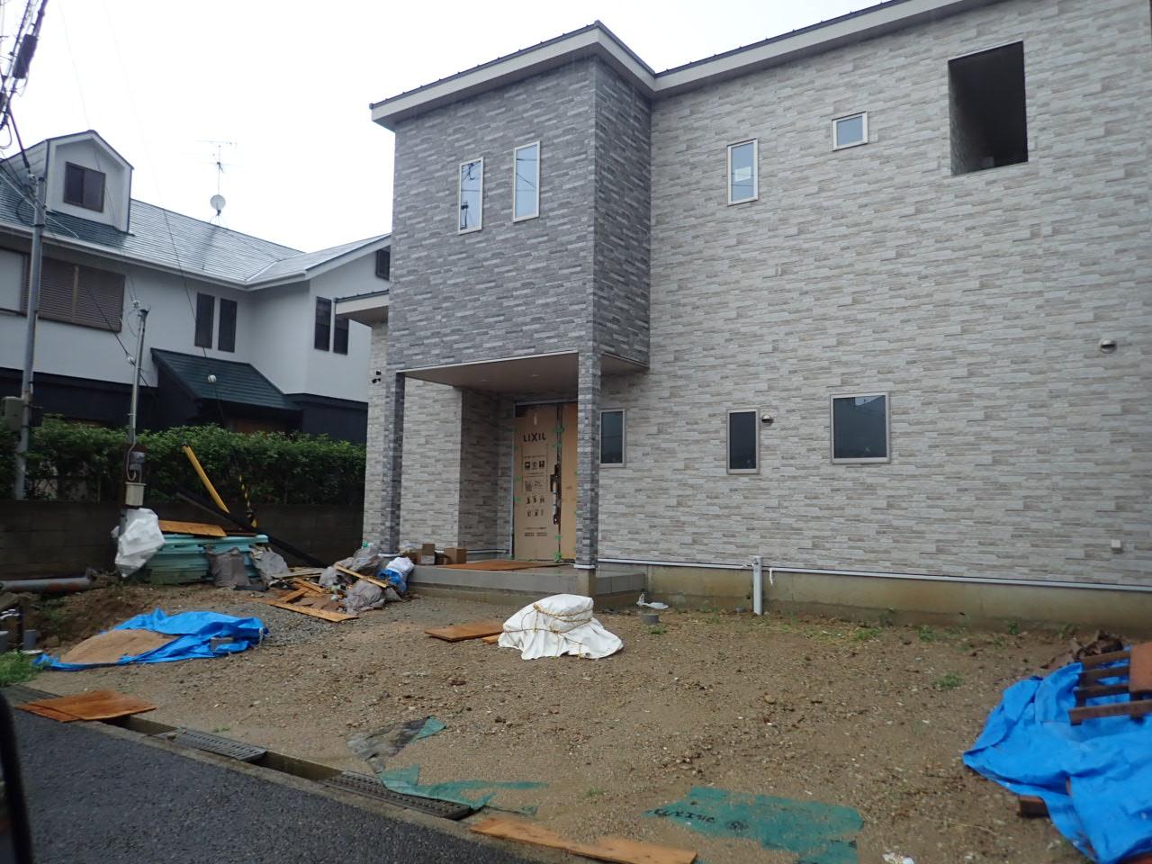 堺市南区 新築に伴う外構工事完成でーす!