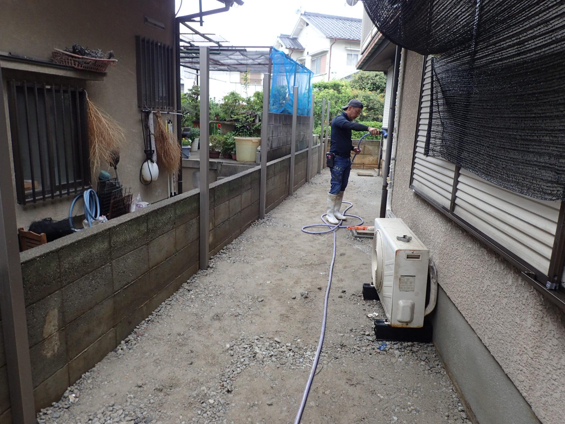 堺市南区 マサファルトの正しい施工方法