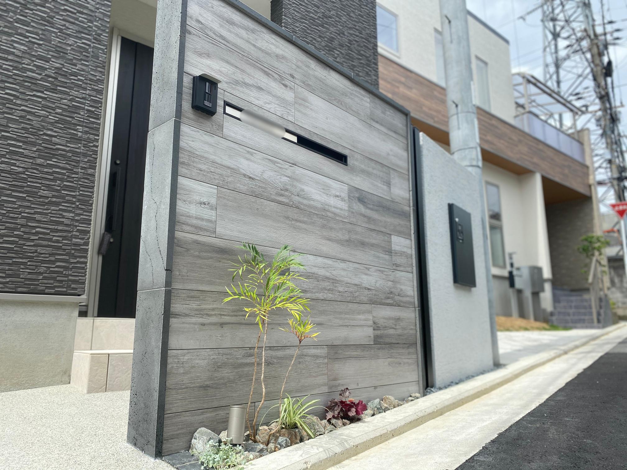 堺市中区 Y様邸総じてカッコいい外構リフォーム完成!