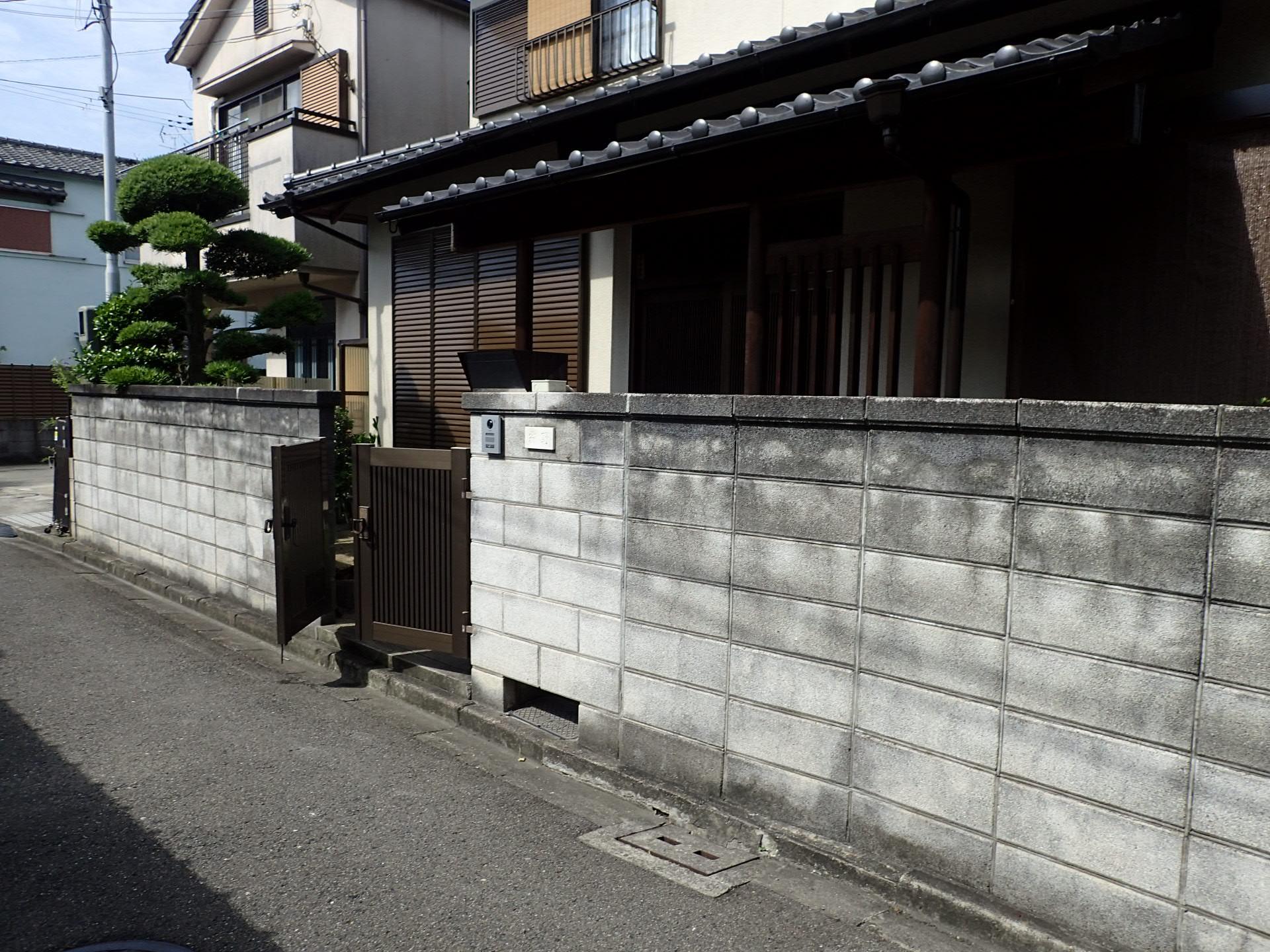 堺市北区 外構リフォーム完成!
