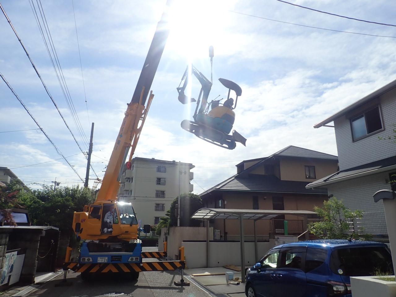 堺市南区 住み心地を改善する外構工事②