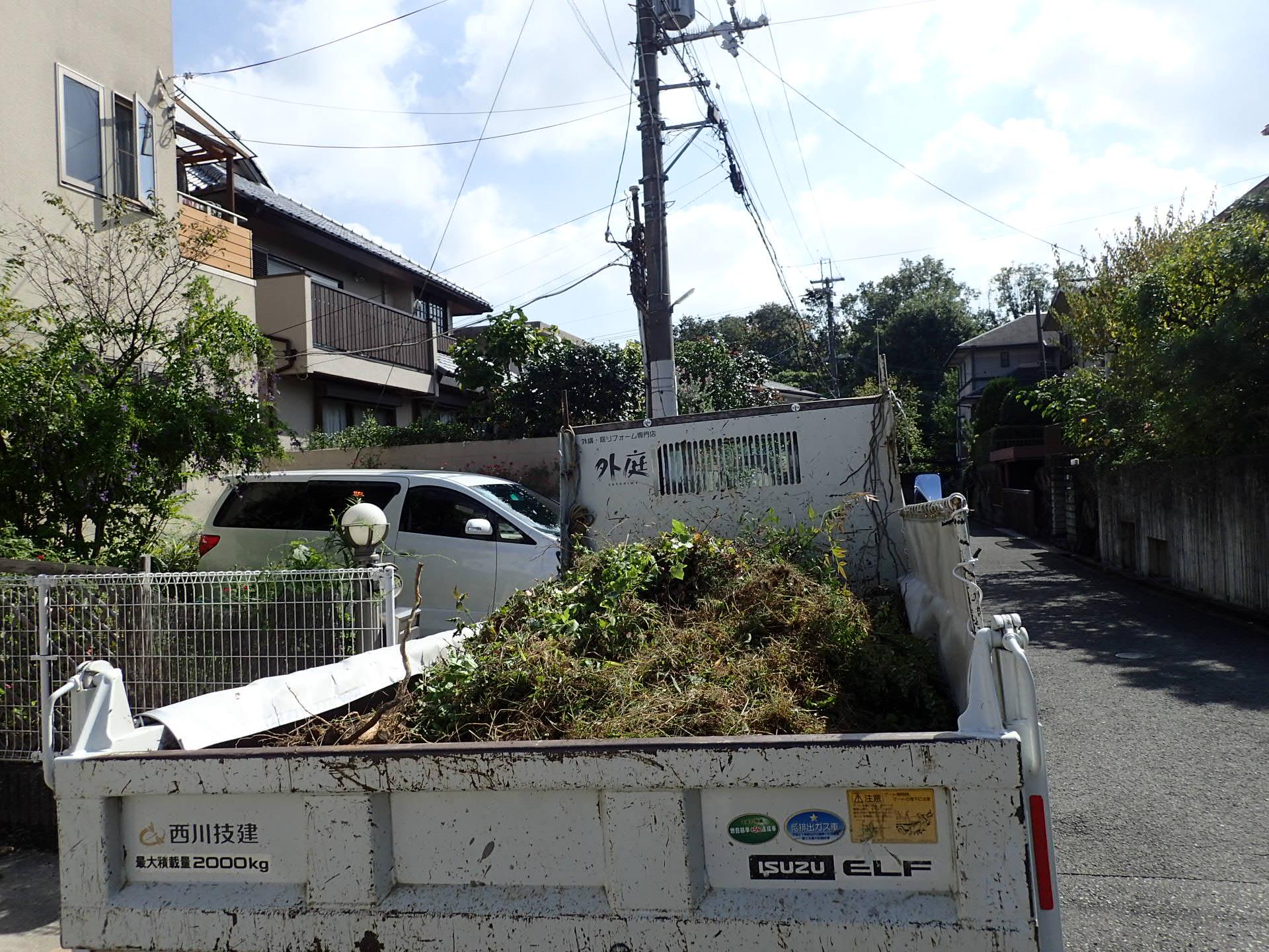 堺市南区 まるで別のお家みたいと思えるような外構リフォームスタート