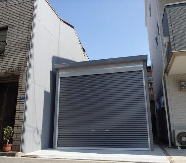 和泉市Yさま 大型ガレージ工事