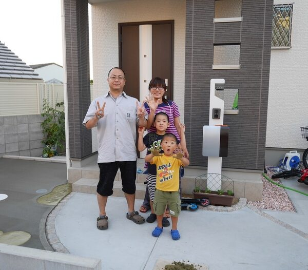 施工事例|庭・外構リフォーム|泉佐野市H様邸