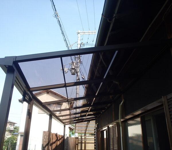 和泉市 Y様邸 テラス屋根設置工事