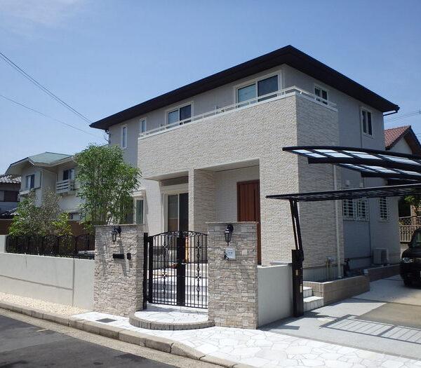 堺市美原区 H様邸新築外構工事