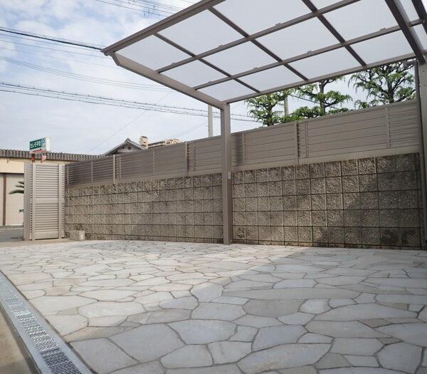施工事例|庭・外構リフォーム|和泉市I様邸